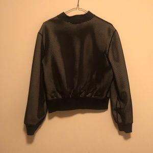 lululemon athletica Jackets & Coats - Lululemon lab size 8 noir reversible grey black